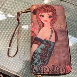 All-in-One Wallet with Wristlet